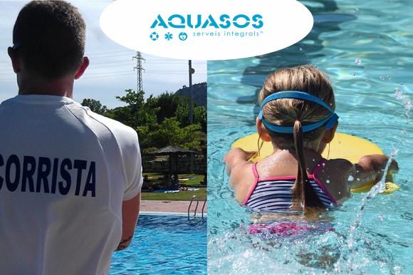 Estem buscant socorristes i monitors/es de natació per a la temporada d'estiu 2019