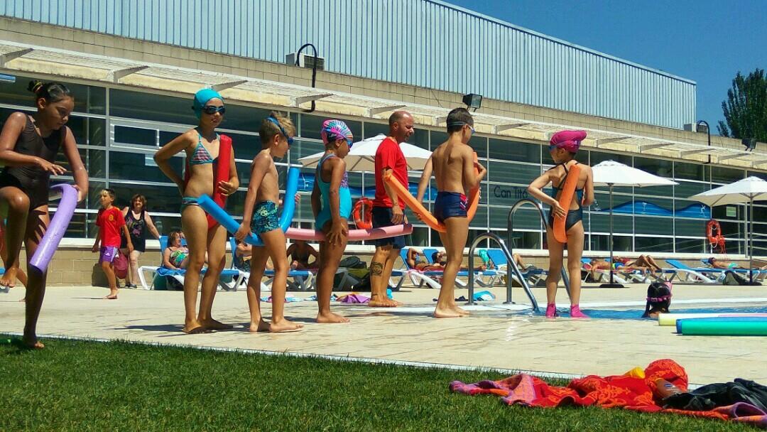 Finalitzen els cursos de natació d'estiu i les classes dirigides