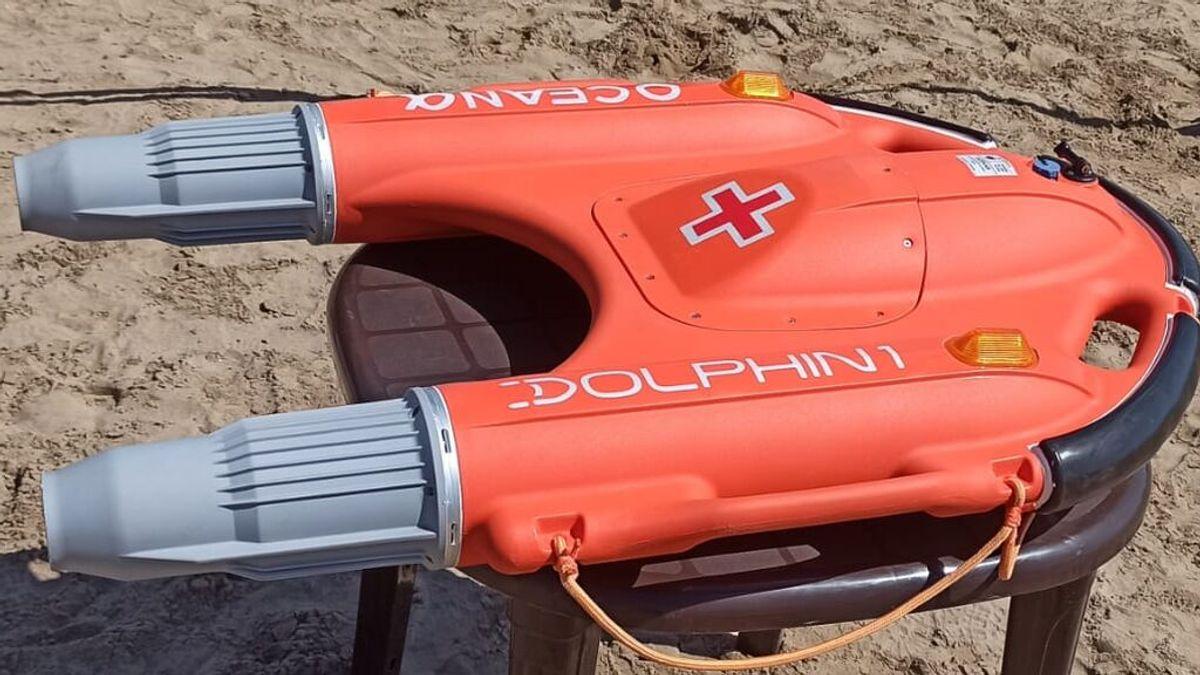 Estrenen un flotador per control remot per salvar vides