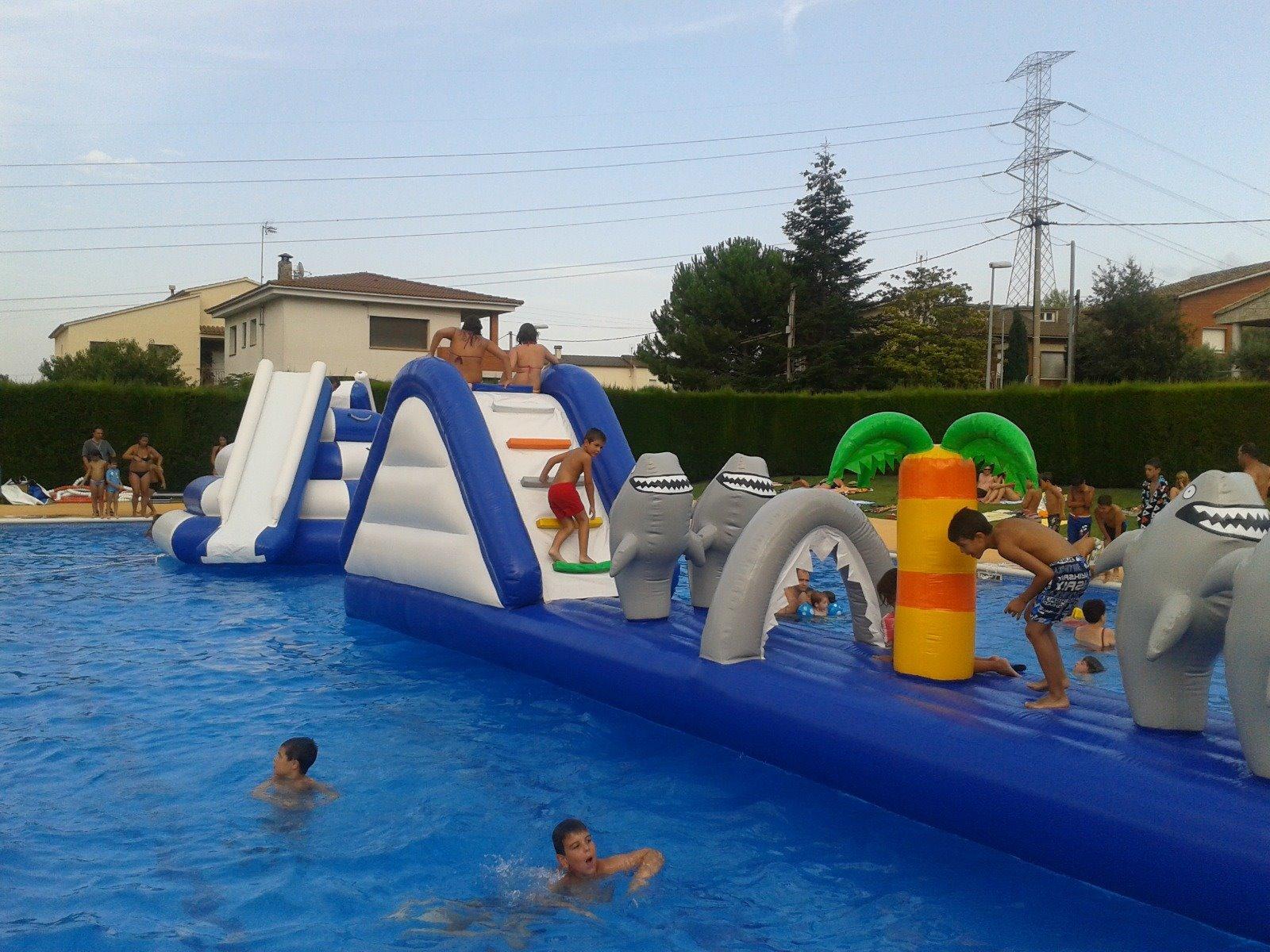 Comencen les festes d'inflables amb Aquasos