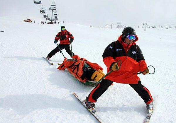 Què fan els socorristes a l'hivern?